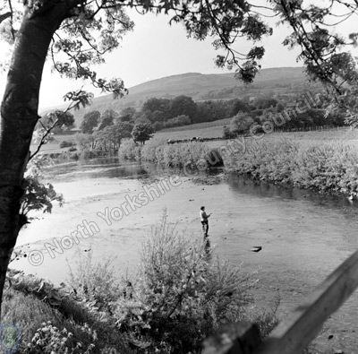 Fishing, River Ure, Aysgarth
